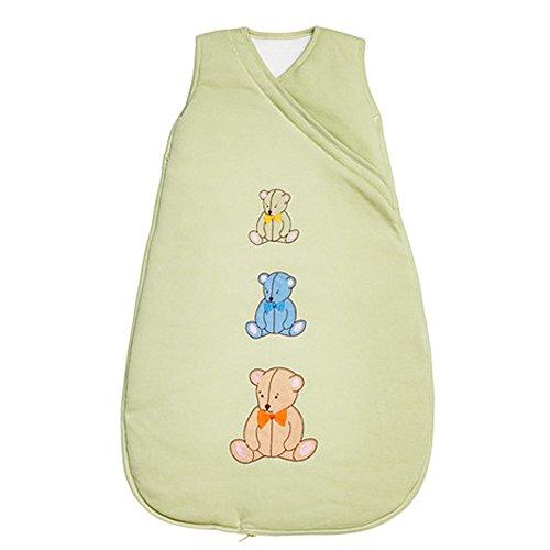 IKEA minibjörn Baby Schlafsack, hellgrün