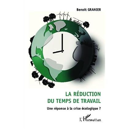 La réduction du temps de travail: Une réponse à la crise écologique ?