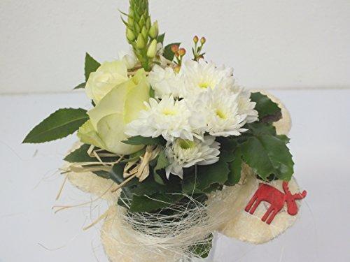 """Blumenstrauß """"Wintertraum"""" VERSANDKOSTENFREI + kostenlose Glückwunschkarte"""