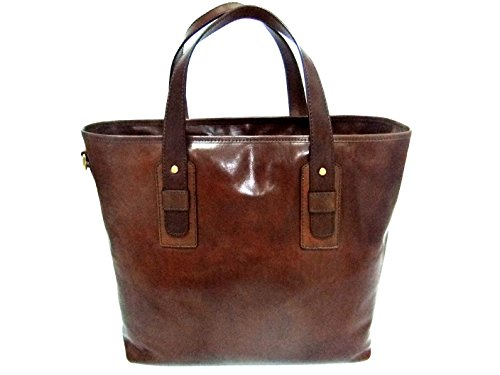 Marrone Tasche Polo Marco 39 Leder Shopper The Bridge cm af6qRR