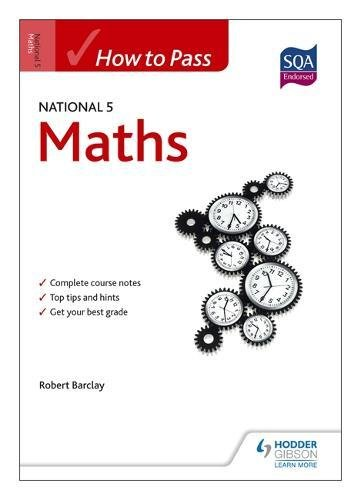 How to Pass National 5 Maths (HTP5)