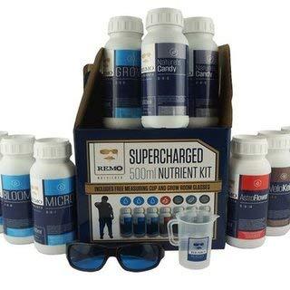 Nährstoff-kit (Remo Nährstoffe Supercharged Kit-500ml Flaschen)
