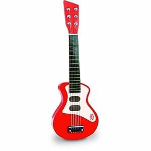 Vilac - 8327 - Instrument de Musique - Guitare Rock - Rouge