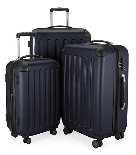 Hauptstadtkoffer Spree, Juego de maletas, Azul oscuro