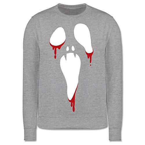 Shirtracer Anlässe Kinder - Scream Halloween - 3-4 Jahre (104) - Grau meliert - JH030K - Kinder ()