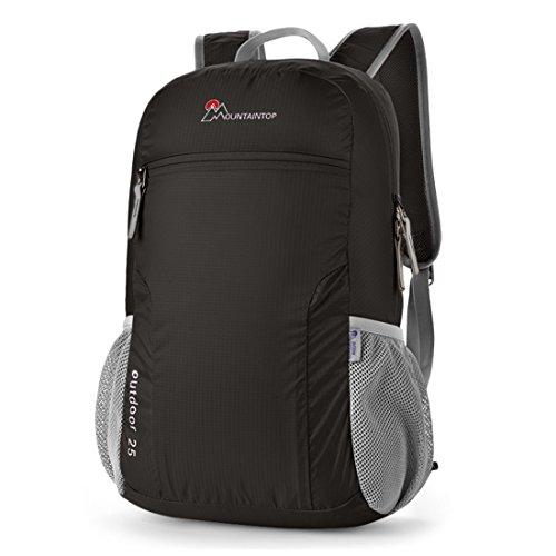Mountaintop 25L Faltbarer Rucksack für Männer, Frauen und Kinder - als - Pfund Gewichte 30