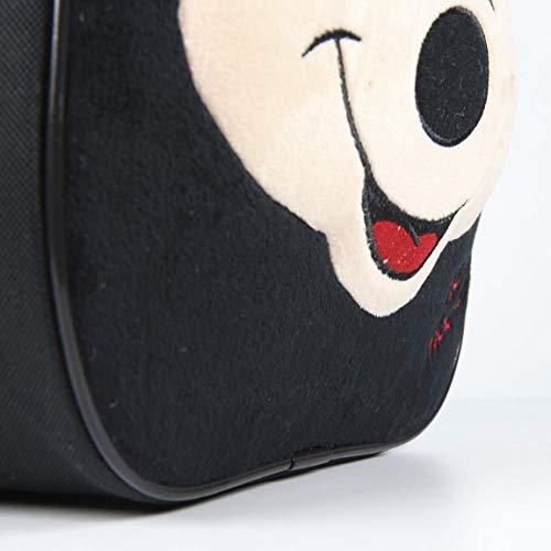 Cerdá 2100002300, Zaino infantile con personaggio 3D Topolino/Mickey Mouse, Bambino, 28 cm