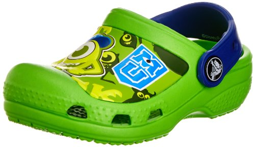 Crocs Kids - Clog Monsters - neon Green Cerulean Blue