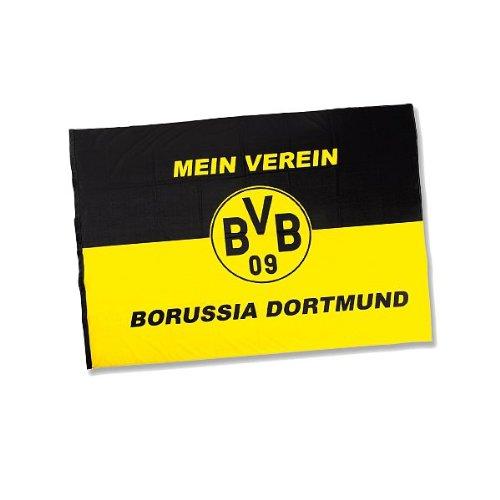 BVB 09 Borussia Dortmund Hissfahne 150 x 200 cm Mein Verein 34134300 Fahne Flagge