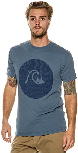 Quiksilver Herren T-Shirt Indian Teal