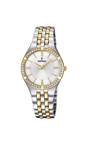 Festina Womens Analogue Classic Quartz Watch with Stainless Steel Strap F20224/1