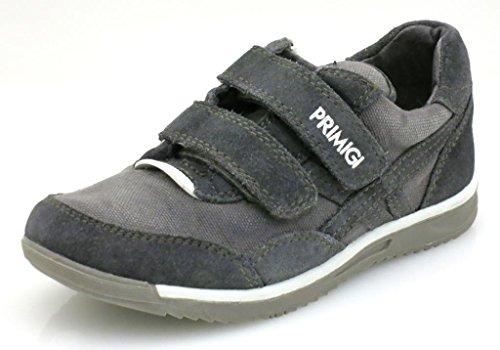 Primigi Sneaker Jungenschuhe Schuhe Jungensneaker Ledersneaker Leder Grau