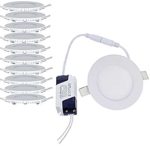 10 x 3 W I Ø 85 mm Lámpara de techo Foco...