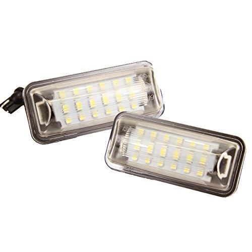Preisvergleich Produktbild Handycop® LED Kennzeichenbeleuchtung für FR-S BRZ Impreza IV WRX WRX STi Legacy V BM/BR Crosstrek Impreza GR/GH3 / FT86 GT86 Prius - Xenon Optik mit Zulassung
