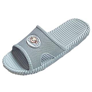 FREAHAP R Bath Slipper Unisex Casual Anti-Slip Shower House Couple Flat Slide Sandals