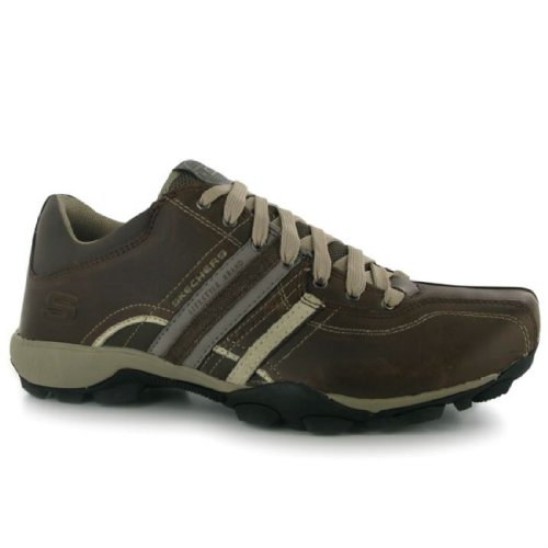Skechers Urban Tread Refresh Mens Shoes Brown/Taupe 10 UK UK