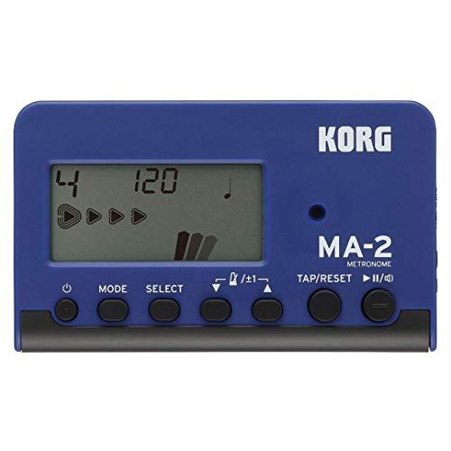 KORG MA-2 Digitales Metronom mit LCD-Display blau/schwarz