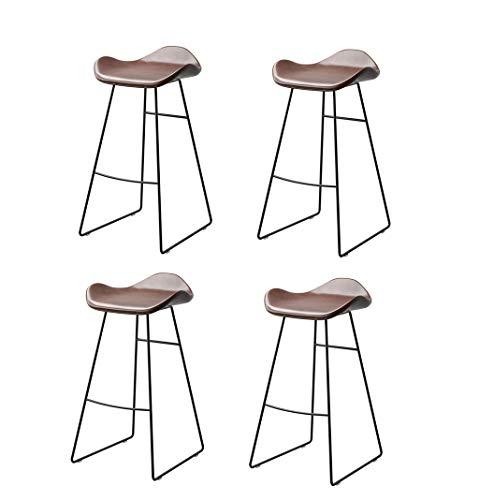 ZRXian-Barhocker Barstuhl im nordischen Stil | Home Küche Esszimmerstühle | Creative Pub Hochhocker, Set 2/3/4, Traglast 300kg