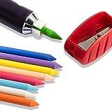 Prym Chalk - Set Inchiostro per Scrittura/evidenziatura e Disegno su Tessuti/Carta/Legno/plastica, plastica/Metallo, Multicolore