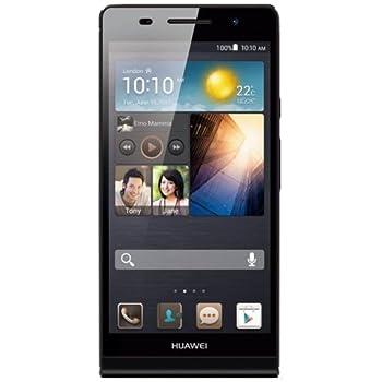 Huawei Ascend P6 Smartphone, 8 GB Fotocamera 8 MP, Display 4.7 Pollici HD, Wi-Fi, Nero