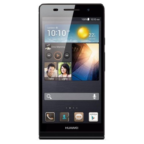 Foto Huawei Ascend P6 Smartphone, 8 GB Fotocamera 8 MP, Display 4.7 Pollici HD, Wi-Fi, Nero