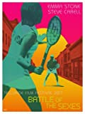 Battle of The SEXES - Emma Stone - U.S Movie Wall Poster Print - 43cm x 61cm / 17 inches x 24 inches A2 Steve Carell