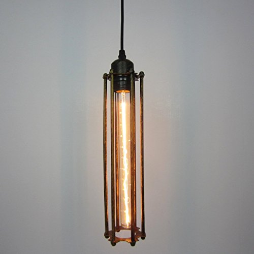 MOMO Éclairage décoratif personnalisé Vintage Lanterne de Solid Wood Triple Pendant