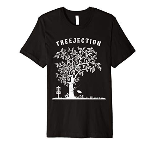 Disc Golf treejection TShirt | Funny Sport Geschenk für Spieler