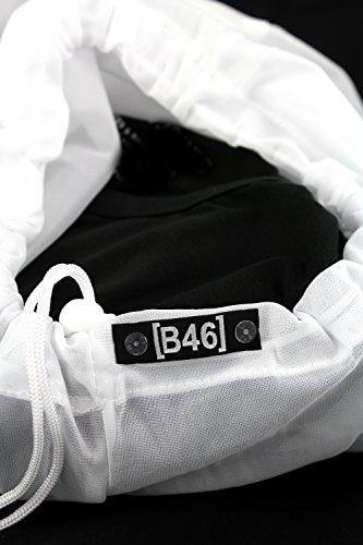 ONLY 3er Pack Damen Oberteile Basic Tank Tops Weiß, Schwarz, Grau, Blau, Creme Frauen Shirt in Verschiedenen Farben Lang Sommer Shirts Top Gratis Wäschenetz B46 Grau (DARK GREY MELANGE)
