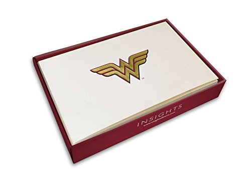 DC Comics: Wonder Woman Embossed Foil Gift Cards (Set Of 10) (Dc Comics Gift Cards)