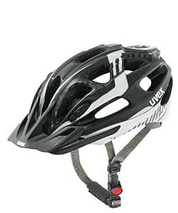 Uvex Supersonic CC Cycling Helmet, - Noir/Blanc, 52-57