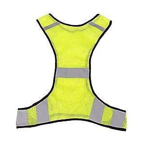 WINOMO Warnweste Reflektierende Sicherheitsweste zum Laufen Jogging Radfahren