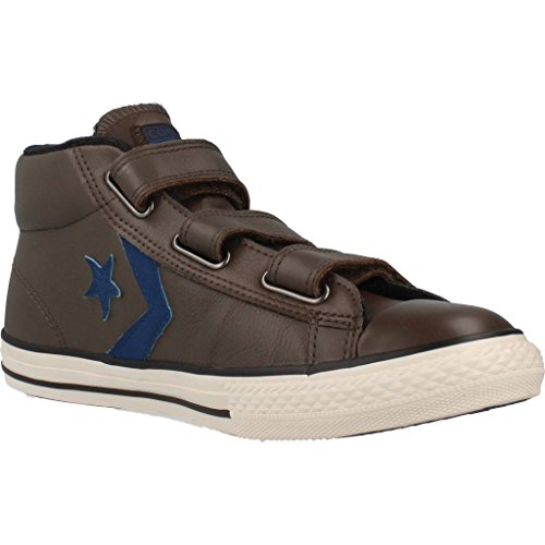 Basket, couleur Marron , marque CONVERSE, modèle Basket CONVERSE STAR PLAYER 3V Marron dark-choco