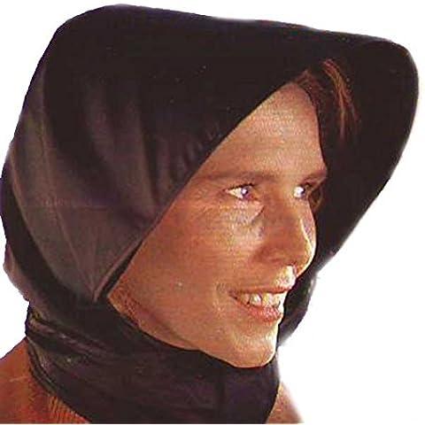Sombrero / Foulard Impermeable para Lluvia - Negro