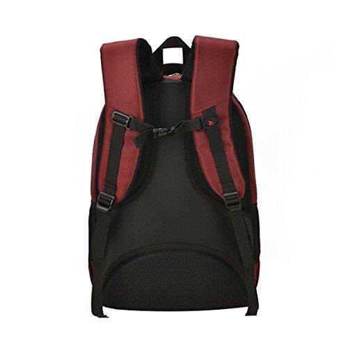 Rucksack Männer Große Kapazität Student Bag Laptop Bag Purple
