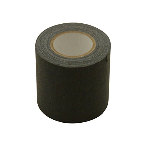 JVCC REPAIR-1 Leather and Vinyl Repair Tape: 2 in. x 15 ft. (Black) by J.V. Converting