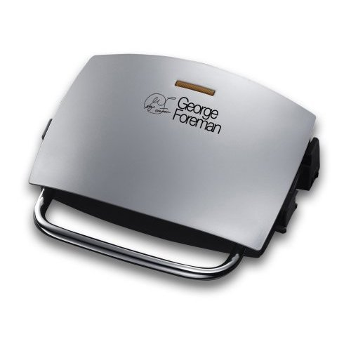 george-foreman-14181-four-portion-family-grill-and-melt-silver-by-george-foreman