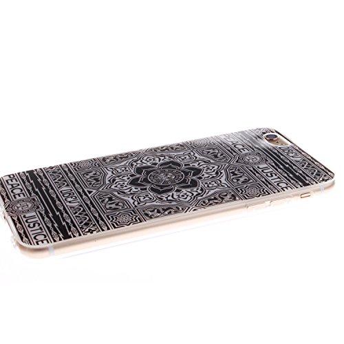 """MOONCASE iPhone 6 Plus Case Coque Housse Silicone Etui Case Soft Gel TPU Cover pour iPhone 6 Plus (5.5"""") -TX09 ST03"""
