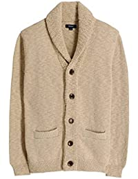 GANT Mens Uneven Shawl cardigan