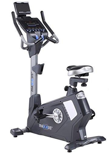 Ergometer MAXXUS Ergometer Bike 90 PRO, Studioqualität, Stromgenerator, elektrisches Magnetbremssystem, 15kg Schwungscheibe, Aufstellmaße 1200x590x1510mm, Benutzergewicht 150kg