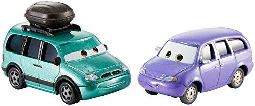 Disney Pixar – Cars 3 – Minny & Van – 2 Mini Véhicules Echelle 1:55