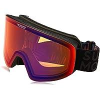 Quiksilver QS_RC Gafas de Snowboard, Hombre, Dorado (Sun Dried Tomato), Talla Única