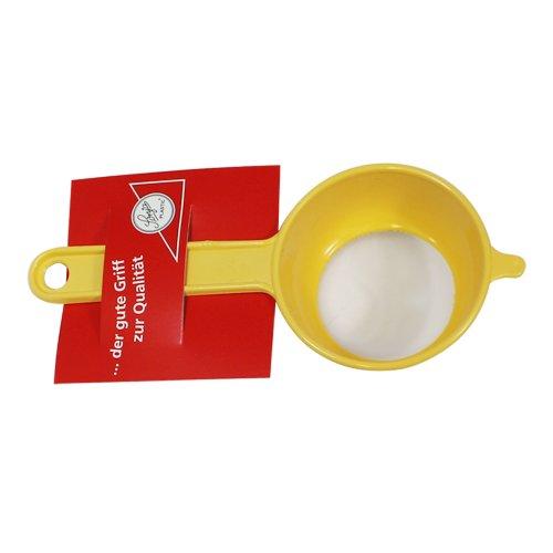 Teesieb mit Halterung Ø 6 cm, aus Kunststoff gelb