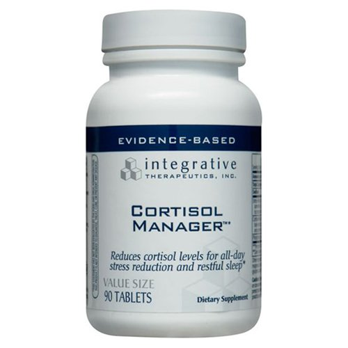 Integrative Therapeutics - Cortisol Manager - Stress Hormone Stabilizer - 90 Tablets