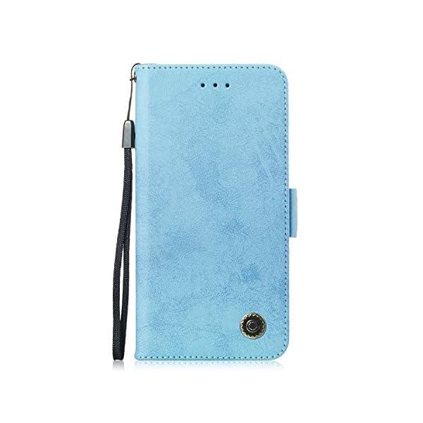SEYCPHE Funda Samsung Galaxy A10 Carcasa Libro de Cuero Ultra Delgado Billetera Cartera [Ranuras de Tarjeta,Soporte… 1