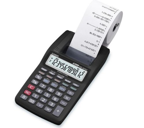 Casio HR 8 TEC  Calculator Test