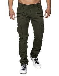 Tazzio - Pantalon - Slim - Homme -  kaki -  31 W/32 L