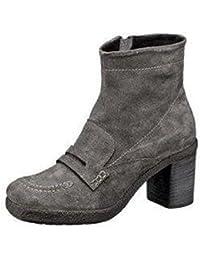 Khrio Stiefelette - Zapatos de Cordones de cuero Mujer