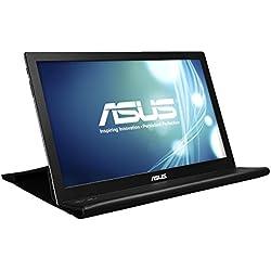 """Asus MB168B - Monitor de 15.6"""" 1366x768 con tecnología TN, color plateado"""