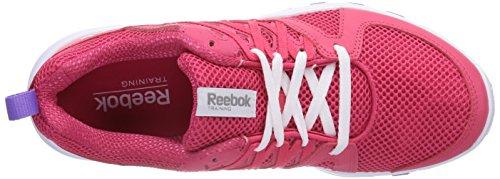 Reebok Sublite Train RS 2.0 Damen Hallenschuhe Pink (Blazing Pink/White/Lush Orchid)